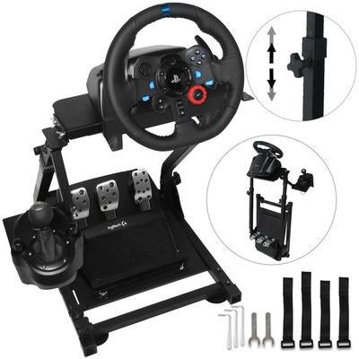 Racing Simulator Steering Wheel Stand for Logitech G29 or Thrustmaster T300RS VSthingymajig