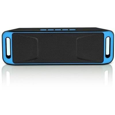 SC208 Bluetooth Wireless Audio Speaker with Stereo Amplifier Subwoofer VSthingymajig Italy Blue