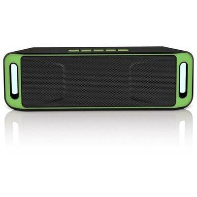 SC208 Bluetooth Wireless Audio Speaker with Stereo Amplifier Subwoofer VSthingymajig Italy Green