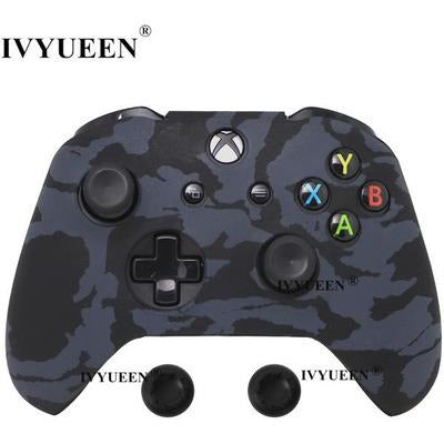 Silicone Protective Skin Case for XBox One, X & S Controller VSthingymajig Black Camo