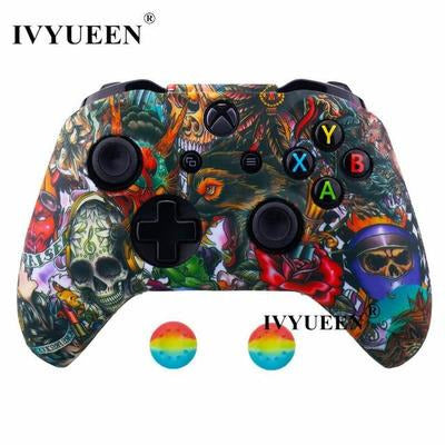 Silicone Protective Skin Case for XBox One, X & S Controller VSthingymajig Devil