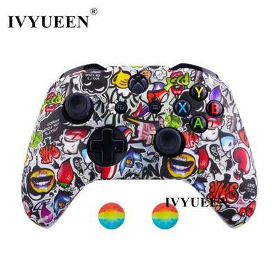 Silicone Protective Skin Case for XBox One, X & S Controller VSthingymajig Graffiti F