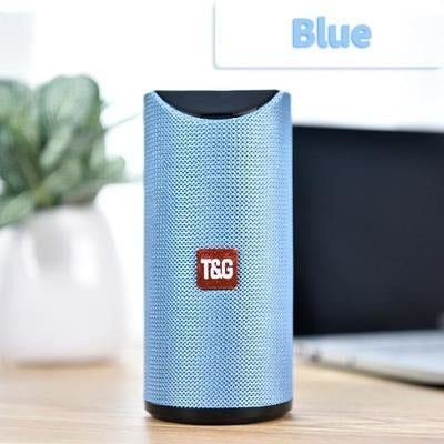 TG Bluetooth Speaker Portable VSthingymajig Blue