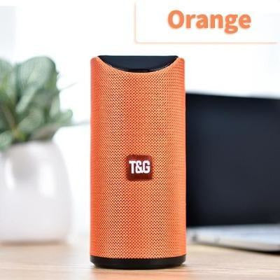 TG Bluetooth Speaker Portable VSthingymajig Orange