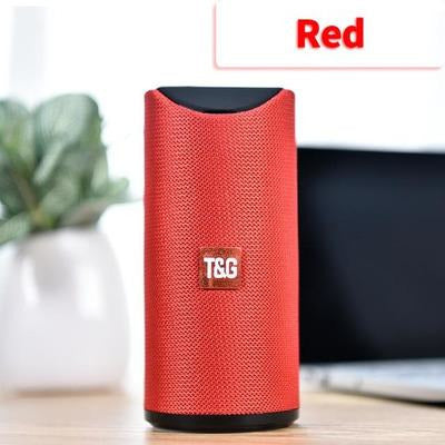 TG Bluetooth Speaker Portable VSthingymajig Red