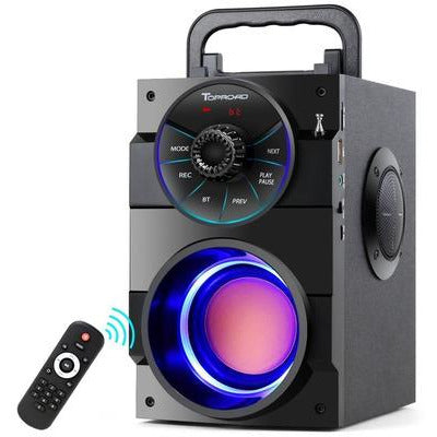 TOPROAD Bluetooth Portable Big Power Stereo Subwoofer Heavy Bass Speaker VSthingymajig
