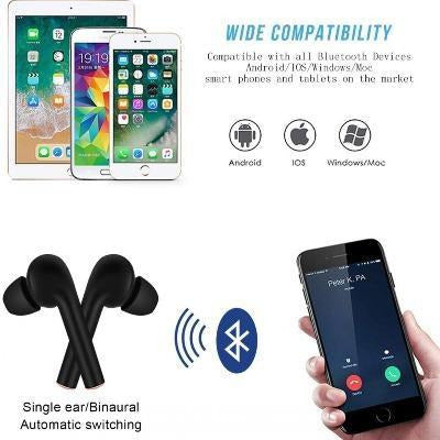 TWS Bluetooth 5.0 Waterproof Earbuds VSthingymajig