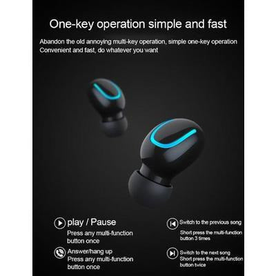 TWS Wireless Blutooth 5.0 Sports Earbuds VSthingymajig