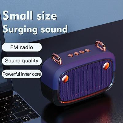 Vintage Portable Bluetooth V5.0 Speaker VSthingymajig
