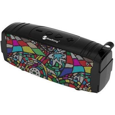 Water Proof Portable MP3 Bluetooth Speaker with Extra Bass 5513 Premium Gadgets Graffiti