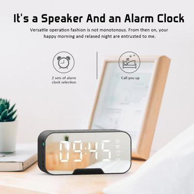 Waterproof Bluetooth Outdoor Speaker Clock VSthingymajig
