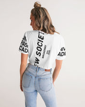 Load image into Gallery viewer, New Society Apparel Collection Women's Twist-Front Cropped Tee