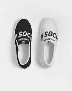 New Society Apparel Collection Men's Slip-On Canvas Shoe