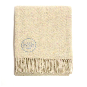 The Rainford  - 100% Recycled Wool Blanket