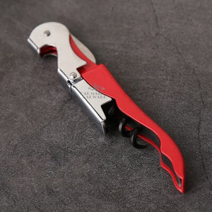 Wine Beer Bottle Opener Corkscrew Professional Double Hinge Waiters Wine Key