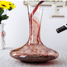 Load image into Gallery viewer, 1100ml Crystal U-shaped Multiple Styles Wine Decanter Gift Box Harp Swan Decanter Creative Wine Separator Bar Supplies