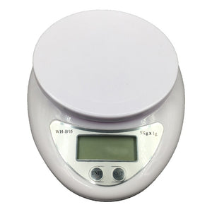 5kg/1g Portable Digital Scale LED Electronic Scales Food Balance Measuring Weight Kitchen LED Electronic Scales