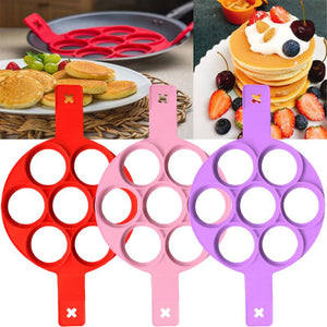 Fried Egg Pancake Maker Nonstick Cooking Tool Round Heart Pancake Maker Egg Cooker Egg Omelette Mold Kitchen Gadgets