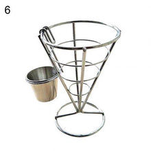 Load image into Gallery viewer, French Fries Basket Food Bucket Snack Potato Chips Barrel Container Tableware