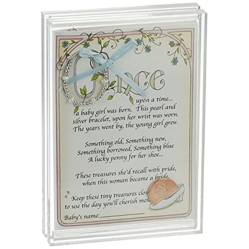 Baby To Bride Bracelet & Frame Set