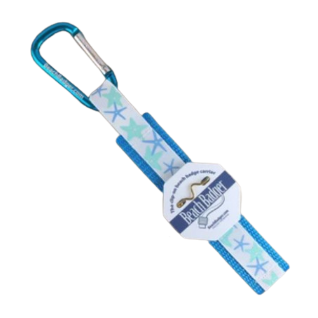 Starfish Beach Badge Holder