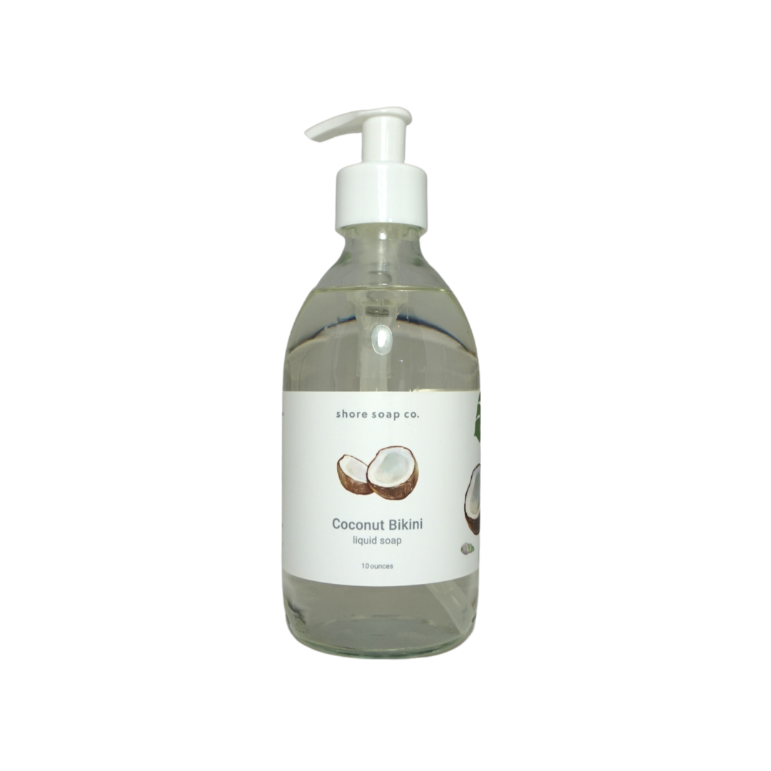 Coconut Bikini Liquid Soap