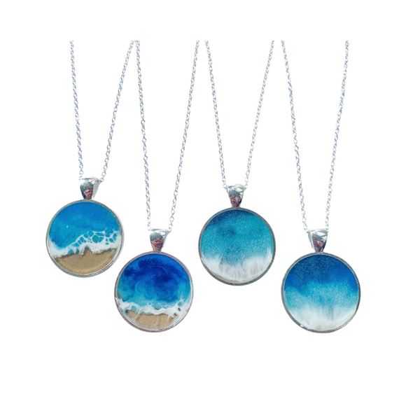 Resin Beach Necklace