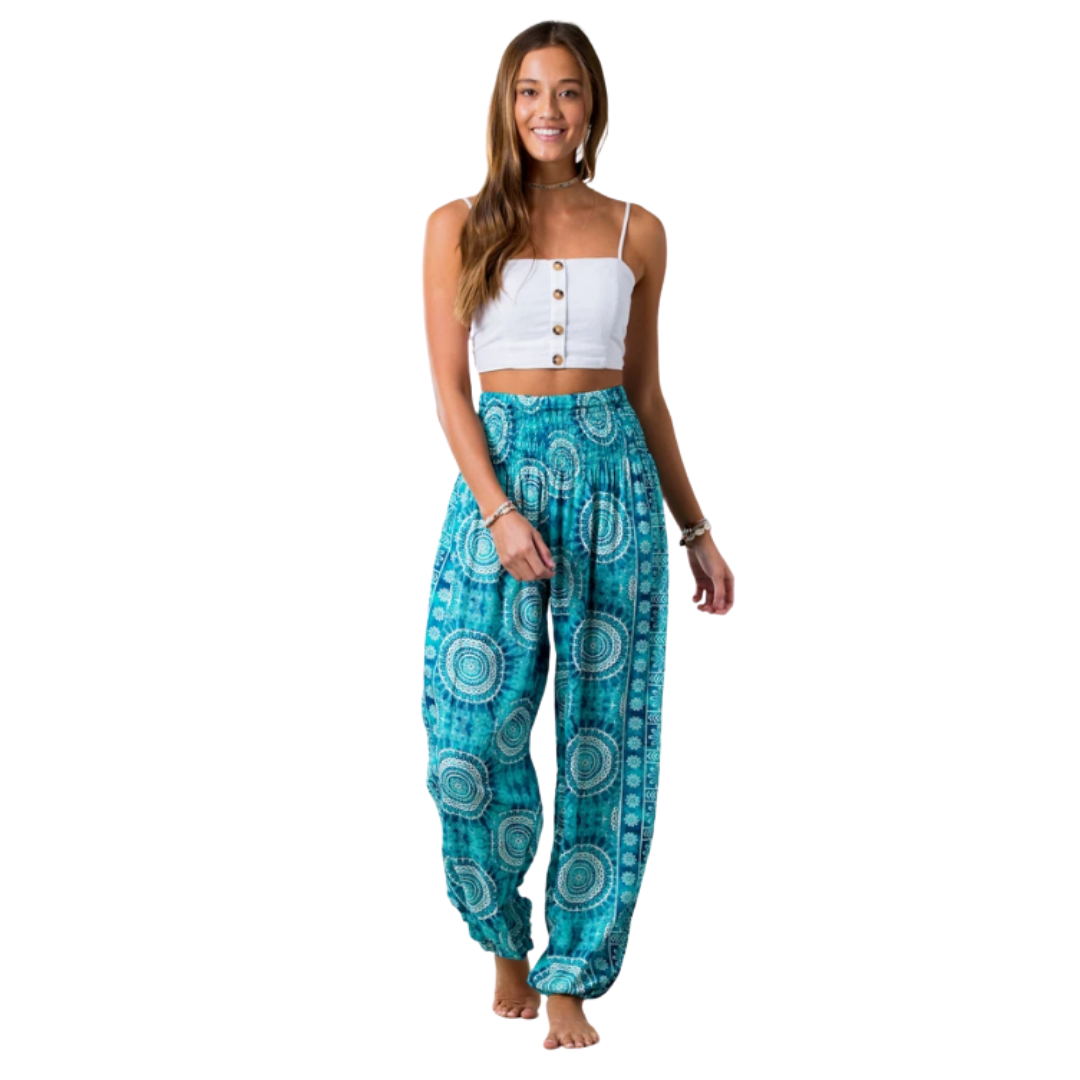 Ocean Watercolor Lounge Pant