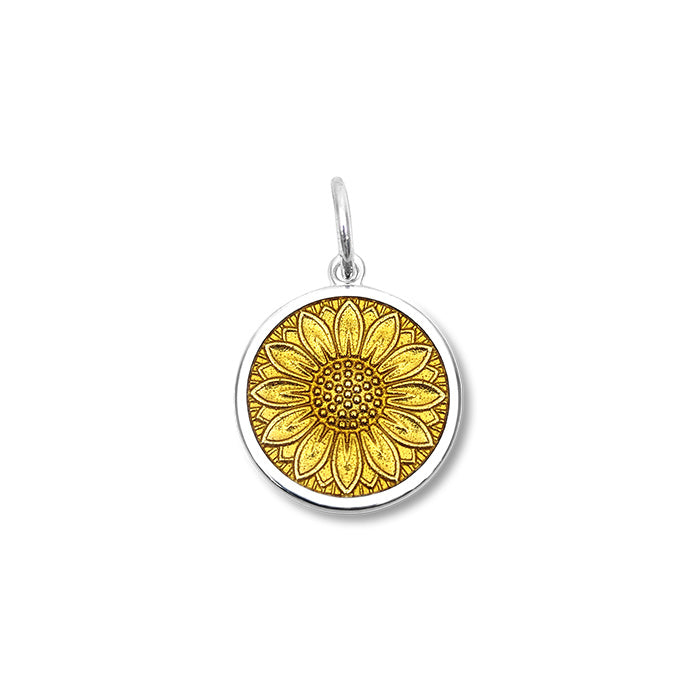 Small Sunflower Pendant