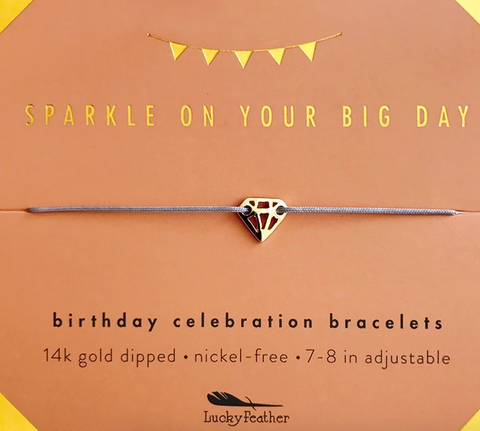 Sparkle Birthday Bracelet