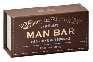 Cardamom & Juniper Man Bar Soap
