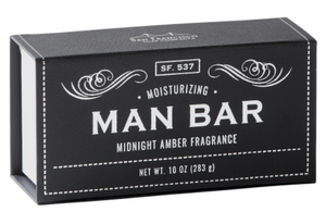 Midnight Amber Man Bar Soap