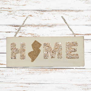 Shells & Sand NJ Home Sign