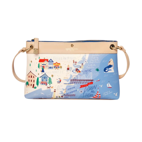 Down the Shore Crossbody