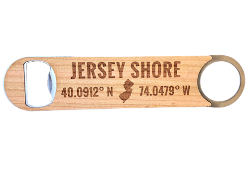 Jersey Shore Bottle Opener