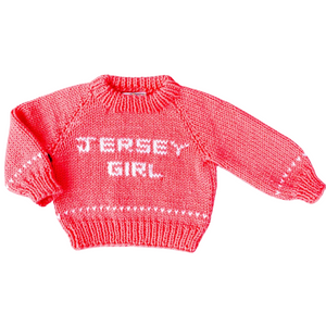 Jersey Girl Baby Sweater