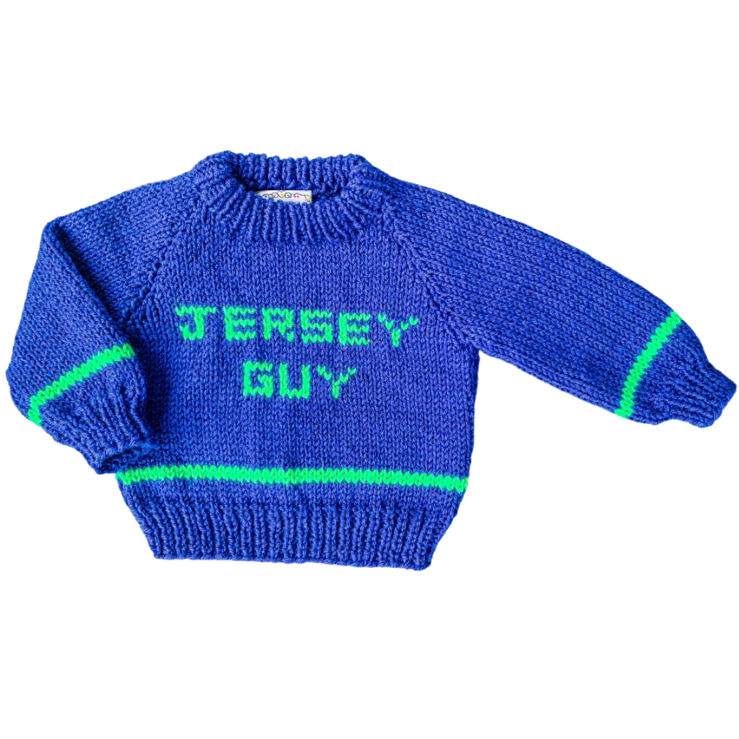 Jersey Guy Baby Sweater