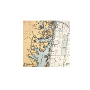Nautical Chart Tile