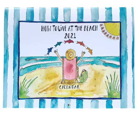 How To Live At The Beach Calendar