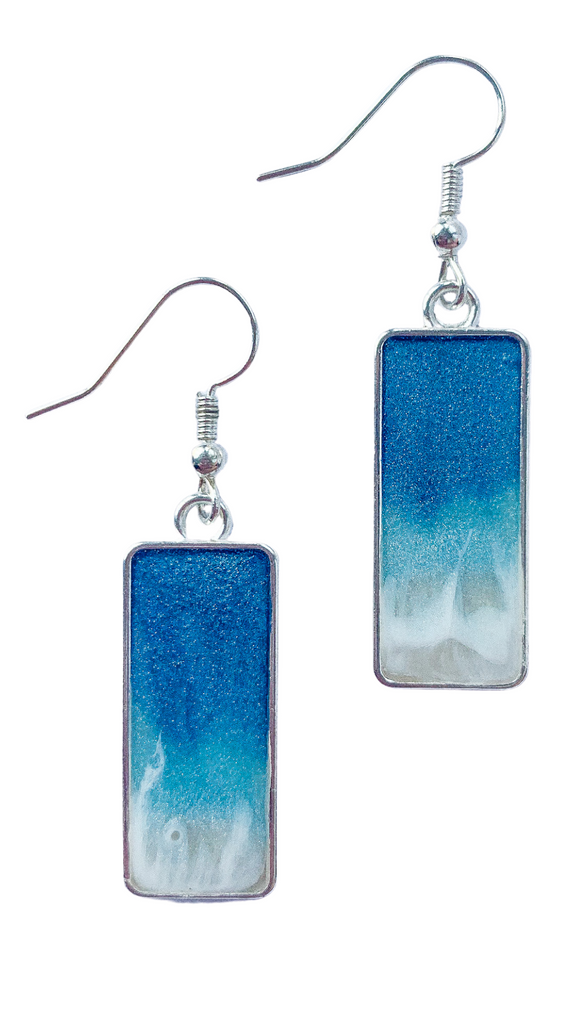 Resin Beach Earrings