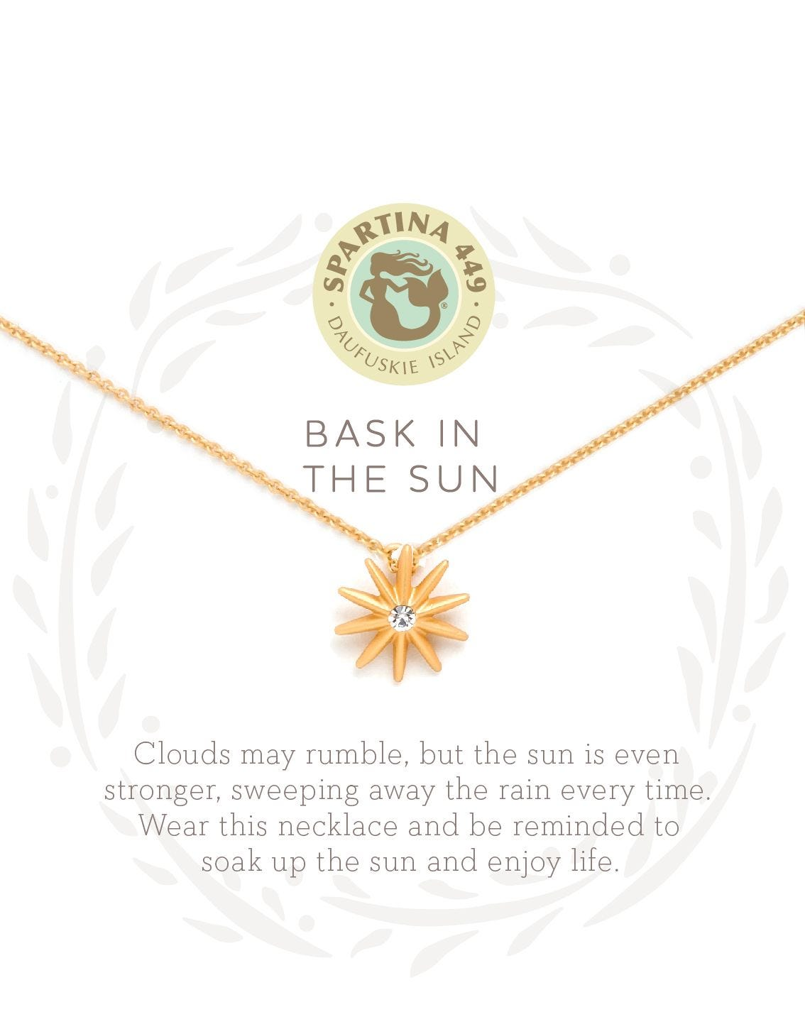 Bask In The Sun Necklace