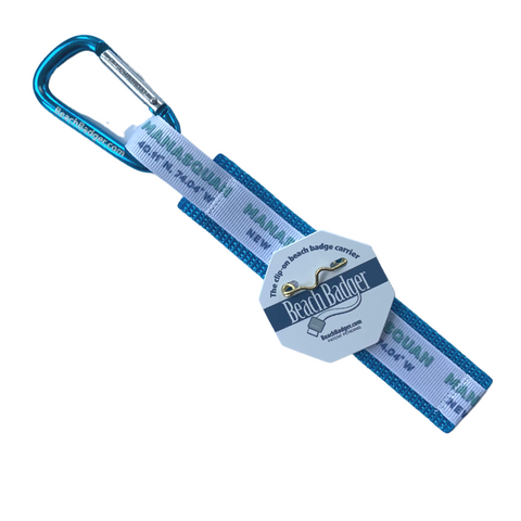 Manasquan Beach Badge Holder