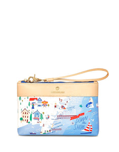 Down The Shore Scout Wristlet