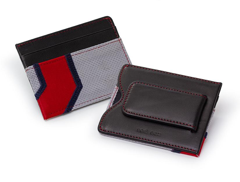 Red Sox Game Used Uniform Money Clip Wallet