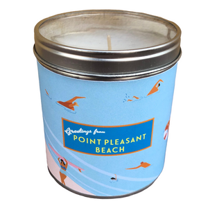 Greetings From Pt. Pleasant Beach Candle