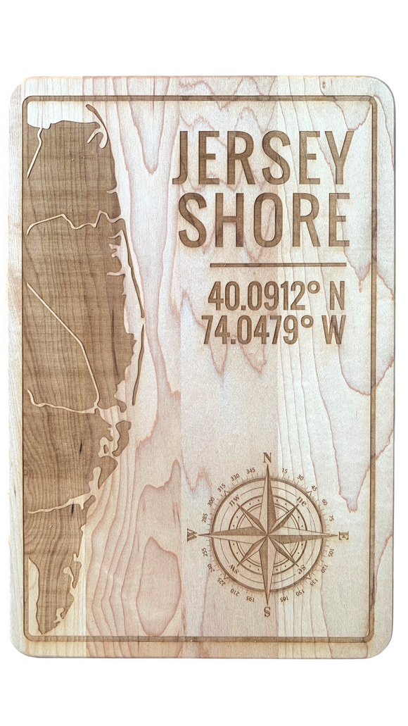 Jersey Shore Cutting Board