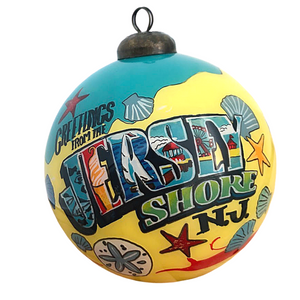 Greetings From The Jersey Shore Ornament