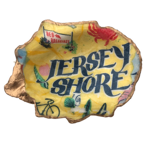 Jersey Shore Oyster Shell Dish