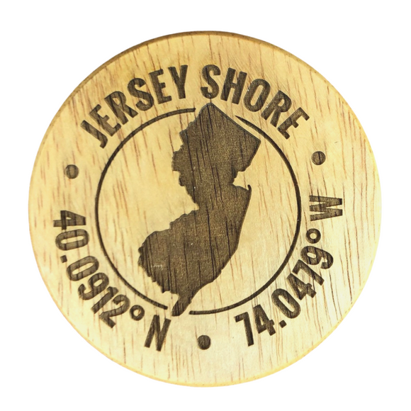 Jersey Shore Magnetic Bottle Opener