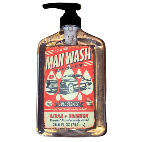 Man Wash Liquid Soap
